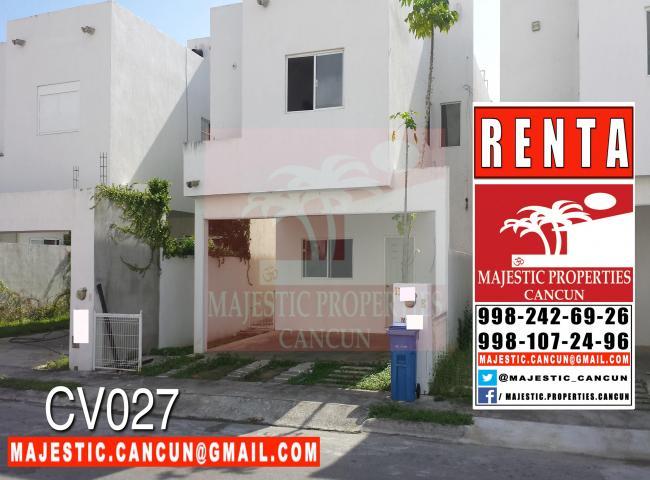 Renta casa en cancun 9 500 casas baratas for Casas en renta en cancun